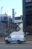 NYPD Observation Tower Stock Images
