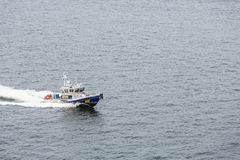 NYPD Patrol Boat Royalty Free Stock Photo