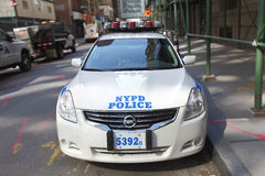 NYPD police car Royalty Free Stock Image