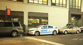 NYPD Police Squad Car Stock Images