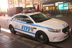NYPD Police Squad Car Royalty Free Stock Photos