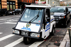 NYPD Police vehicle Royalty Free Stock Photo