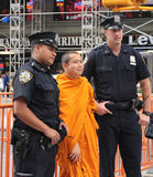 NYPD policjanci Zdjęcia Stock