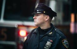 NYPD-polis i NYC Royaltyfri Bild