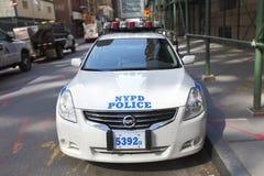 NYPD-polisbil Royaltyfri Bild