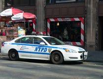 NYPD-polisbil Arkivbilder