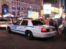 NYPD-Polizeiwagen Stockfoto
