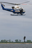 NYPD Raises Diver Royalty Free Stock Images