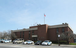 NYPD 61st Precinct  in Brooklyn , NY Royalty Free Stock Photography