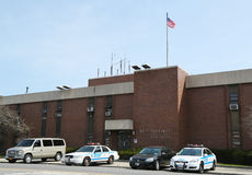 NYPD 61st Precinct  in Brooklyn , NY Stock Photo