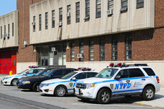 NYPD 60th Precinct in Brooklyn , NY Royalty Free Stock Photo