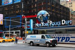 NYPD, Times Square Stock Photo