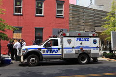 NYPD Truck Stock Photo