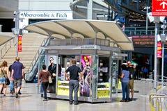 NYS Collection Kiosk, Las Vegas, NV Royalty Free Stock Image