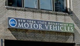 NYS DMV Στοκ Φωτογραφίες