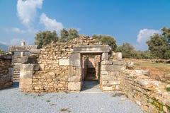 Nysa Ancient City Stock Photos
