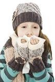 nysa barn för flicka Royaltyfri Foto