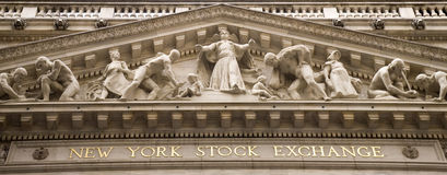 NYSE Royalty-vrije Stock Afbeelding