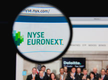 NYSE Euronext 免版税库存照片