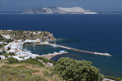Nysirros island in Greece. Stock Photography