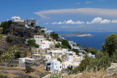 Nysirros island in Greece. Stock Images