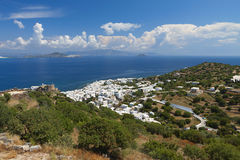 Nyssiros island in Greece Stock Photography