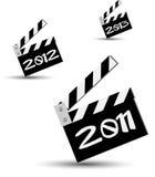 nytt år 2011 för blackboard Arkivfoto