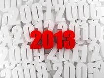 Nytt år 2013 Fotografering för Bildbyråer