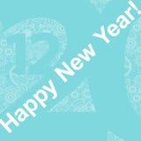 nytt år vektor illustrationer