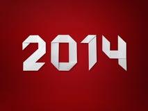 Nytt år 2014 Royaltyfria Bilder