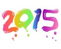 Nytt år 2015 Royaltyfri Bild