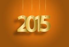 Nytt år 2015 Fotografering för Bildbyråer