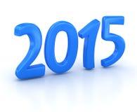 Nytt år 2015 Stock Illustrationer