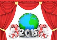 nytt år Arkivbilder
