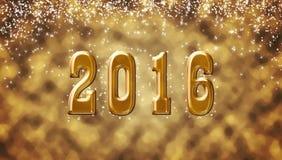 Nytt 2016 år Fotografering för Bildbyråer
