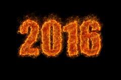 Nytt år 2016! Arkivbild