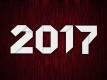 Nytt år 2017 Arkivbild