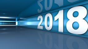 Nytt år 2018 Arkivfoto