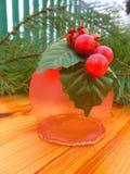 nytt år ekologiskt trä för julgarneringar Tappning _ Fotografering för Bildbyråer