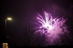 nytt år för abstrakt bakgrund Royaltyfri Bild