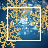 Nytt år för abstrakt ferie och bakgrund för glad jul också vektor för coreldrawillustration stock illustrationer