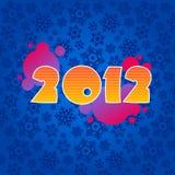 nytt år för bakgrund Fotografering för Bildbyråer
