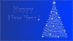 nytt år för bakgrund Arkivbild