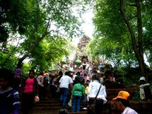 nytt år för banan khmer royaltyfria bilder