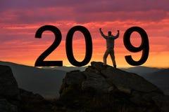nytt år för begrepp arkivfoto