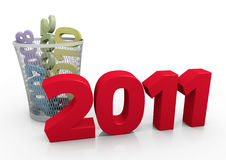 nytt år för begrepp stock illustrationer