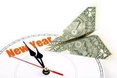 nytt år för begrepp Arkivfoton