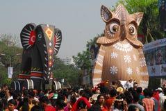 nytt år för bengali beröm Royaltyfri Foto