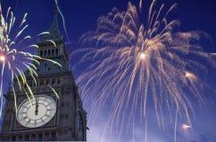 nytt år för beröm Royaltyfri Bild