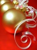 nytt år för boll royaltyfri bild